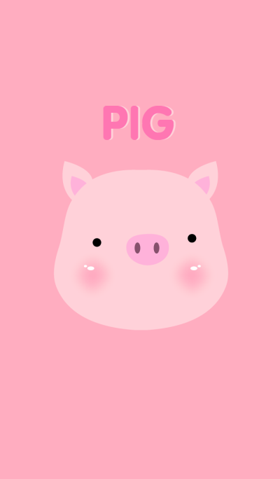 Simple Pink Pig theme v.5