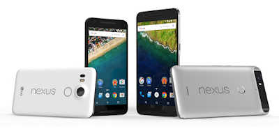 The Nexus 5X and the Nexus 6P