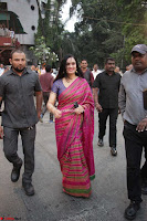 Padmini Kolhapuri at Inauguration Of Pandit Padharinath Kolhapure Marg Exclusive  43 (2).JPG