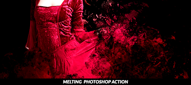 Splatter Paint Photoshop Action