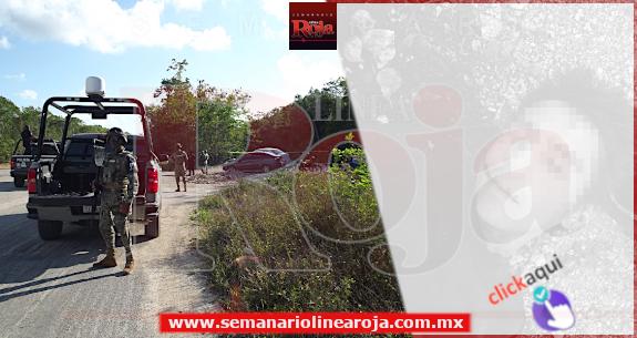 Encuentran joven ejecutado de varios disparos, atrás de la colonia 'Villas del Sol'