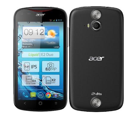 Acer Liquid E2 Hitam