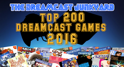 The Dreamcast Junkyard: The Top 200 Dreamcast Games 2016