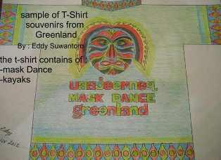 Gronland Mask Dance T-Shirt