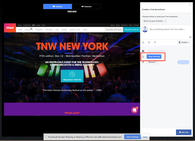 facebook-live-compartir-pantalla