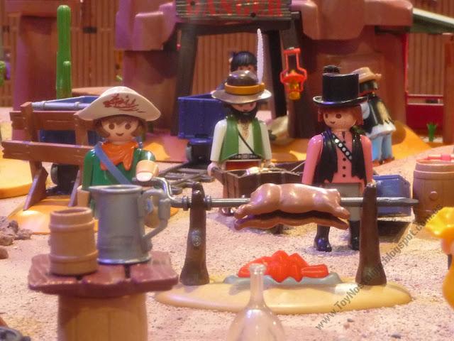 diorama Playmobil Oeste Western Cowboys