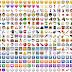 872 Icons do Whatsapp vetorizados em Corel Draw