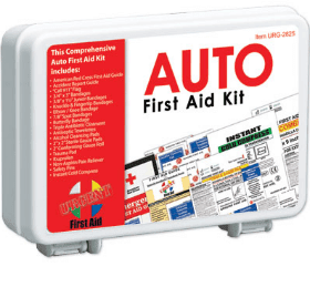 26 First Aid Kit Items All Drivers Should Have In Their Cars