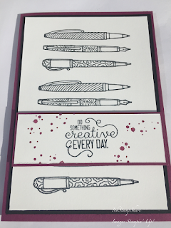 Crafting Forever card, Stampin Up, Inspire Create Challenge #029
