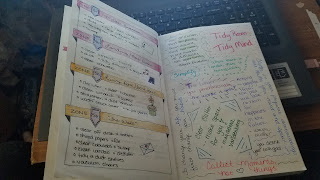 Bullet Journal - Zone Cleaning Layout - Katrina Roets