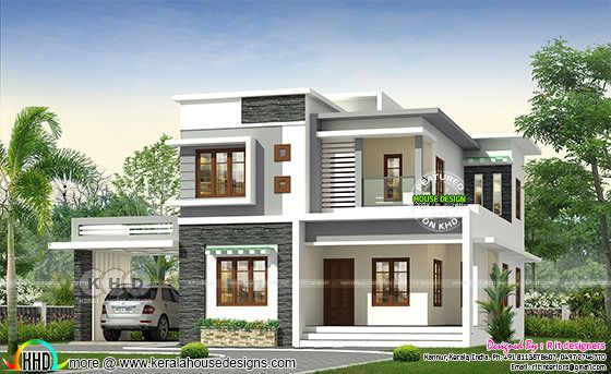 4 bedroom modern home in 2478 square feet