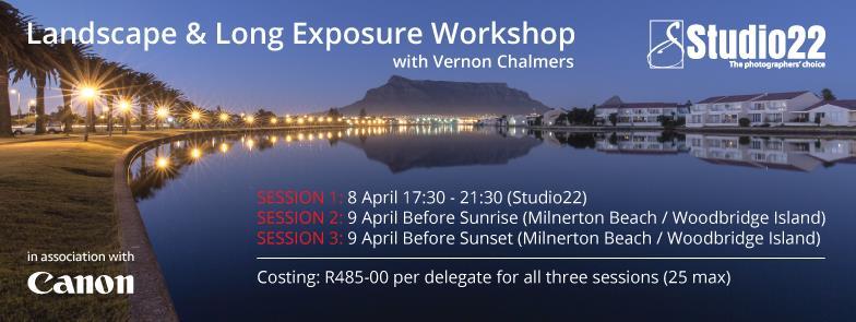 Landscape / Long Exposure Workshop Cape Town