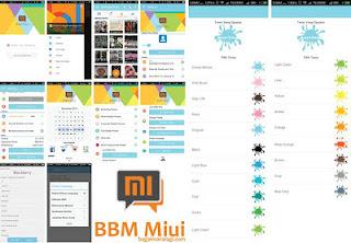 BBM MIUI 7 Version 2.12.0.11 Apk