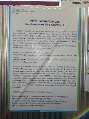 Marketing Apartment Vivo Yogyakarta