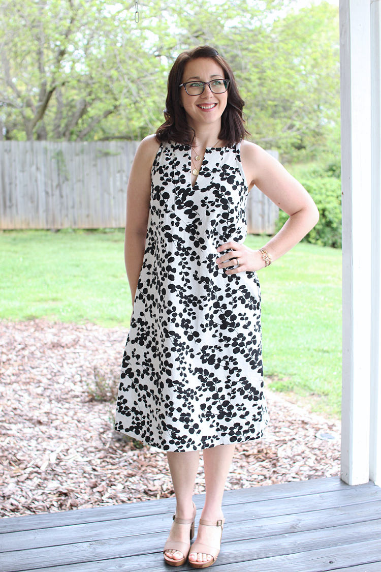Colfax Midi Dress // Sewing For Women