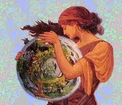 Mujer-madre cósmica