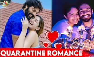 Arya Sayesha Romantic Quarantine | Tamil Actress, Reba Monica, Lockdown