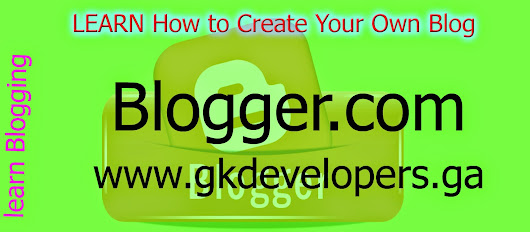How to Create Your Own Blog on Blogger.com