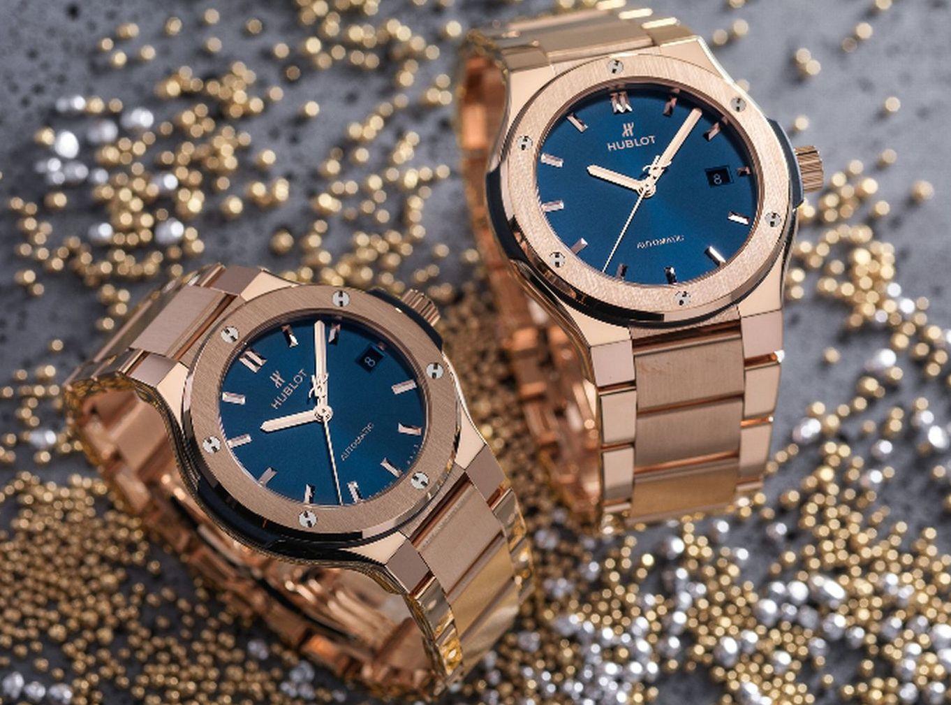 Hublot Classic Fusion Bracelet Blue f2827de688