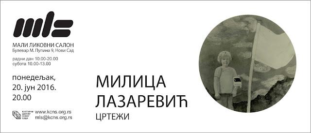 Izložba crteža Milce Lazarević