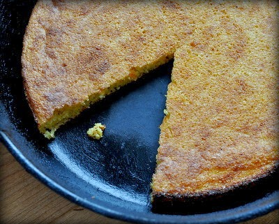 Simple Cast Iron Southern Corn Bread, six tips for perfect cornbread every time.