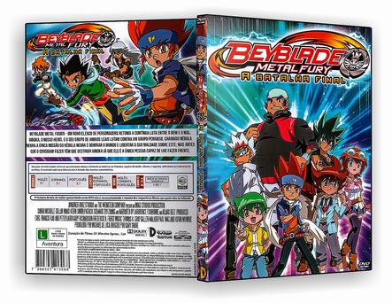 CAPA DVD – Bayblade A Batalha Final – ISO