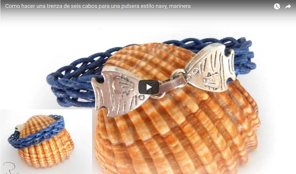 diy pulsera navy trenza de seis cabos