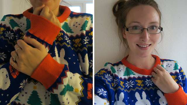 Miffy Christmas Jumper knitted