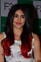 Bollywood Actress Adah Sharma Pos in White Printed Short Dress at OPPO F3 Plus Selfie Expert Mobile Launch .COM 0058.jpg