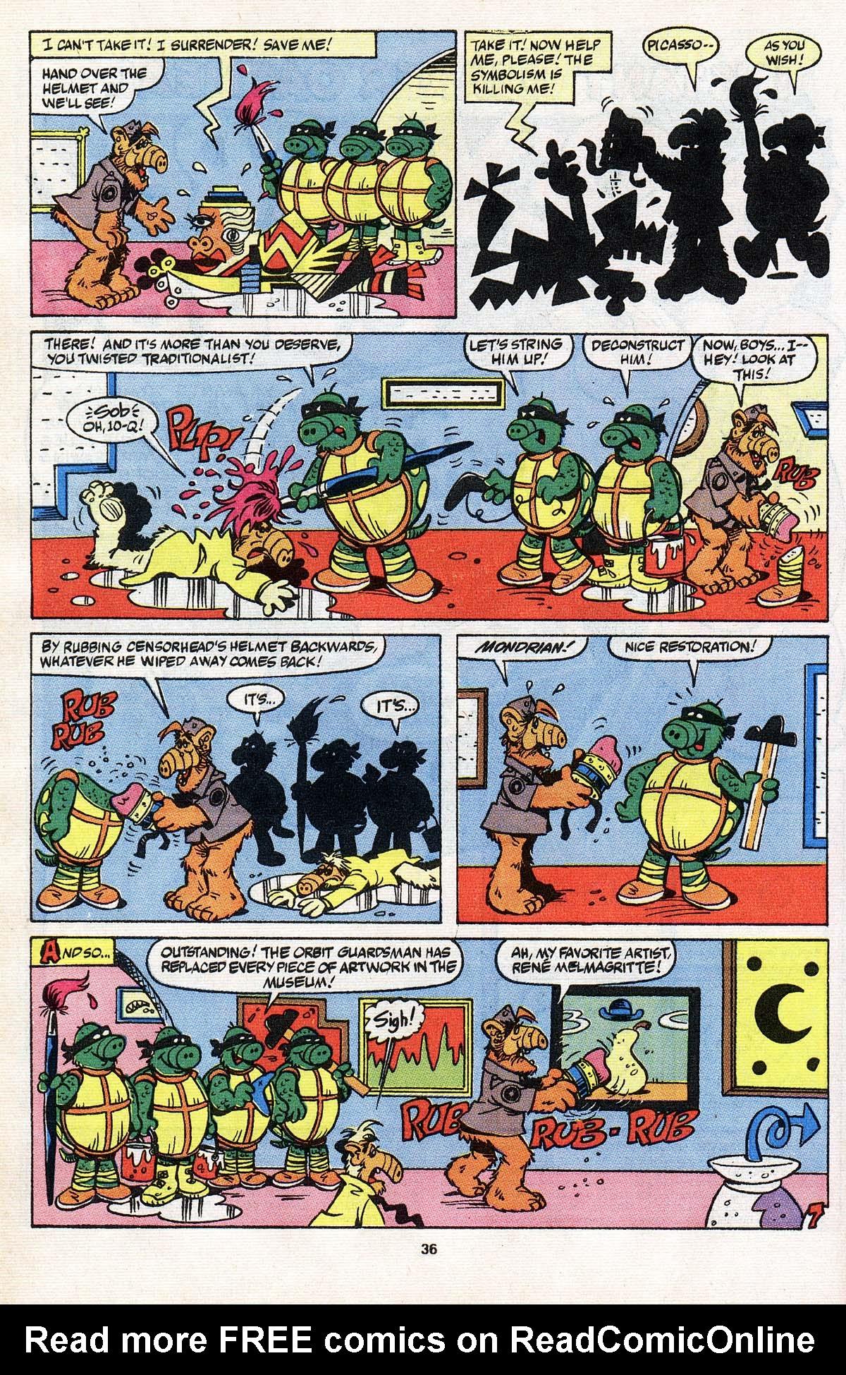 Read online ALF comic -  Issue # _Annual 3 - 32