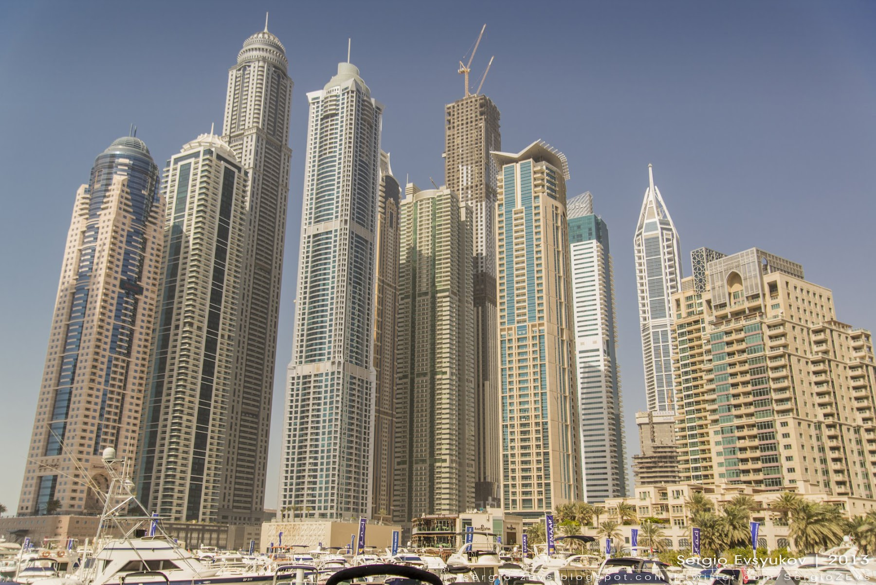 Skyscrapers of Dubai Marina