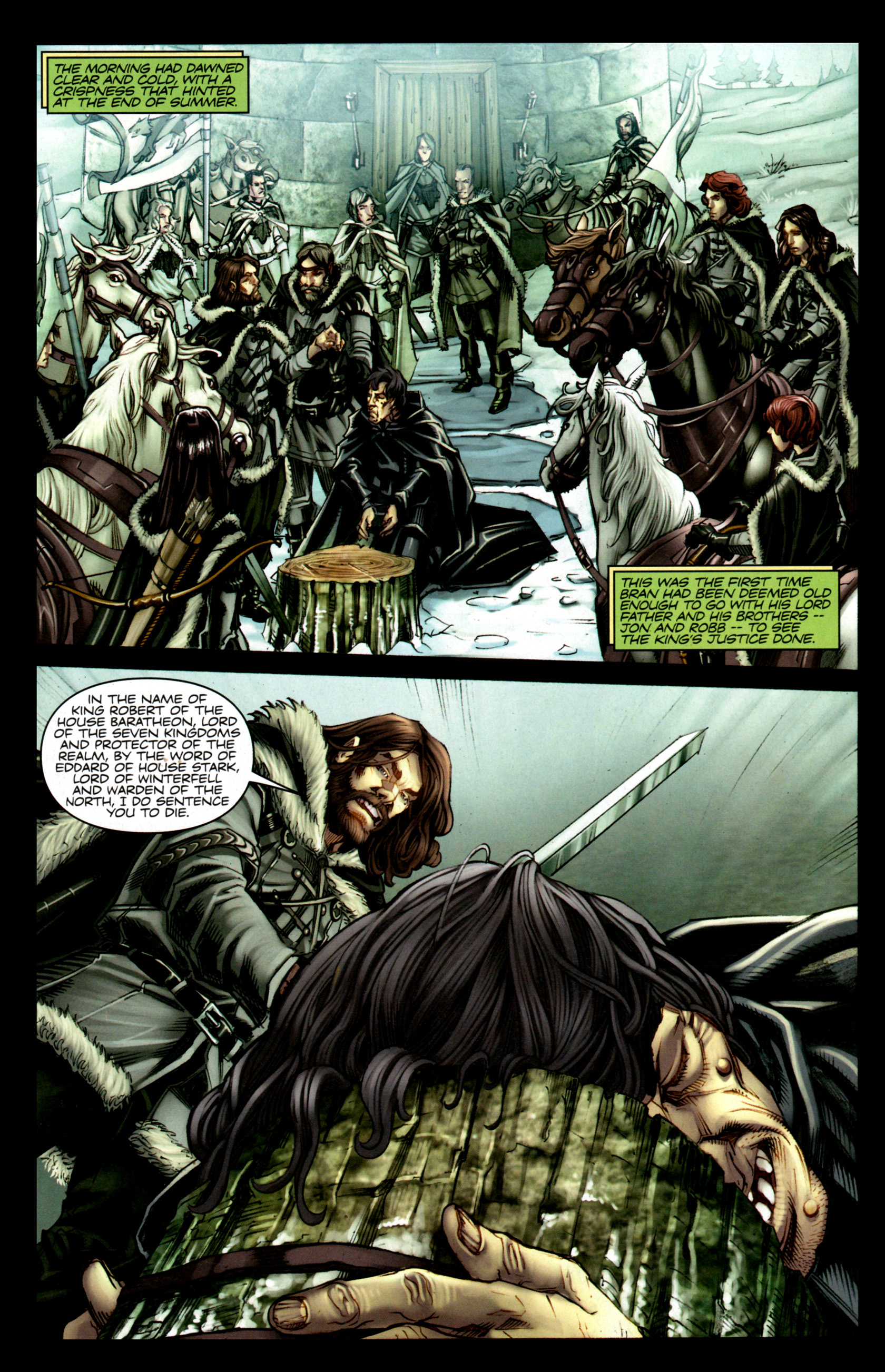 Read online A Game Of Thrones comic -  Issue #1 - 10