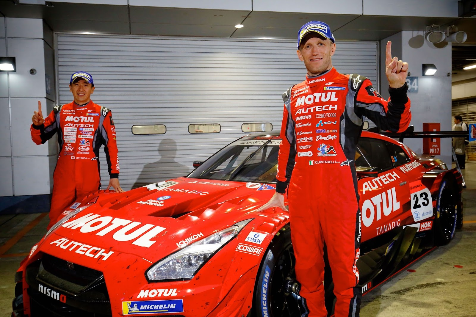 Η Nissan κατέκτησε τη νίκη στο Super GT, στην πίστα του Fuji Speedway