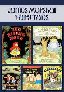 Story retellings can be introduced with these great books by James Marshall. This post includes lesson ideas and free resources for you!