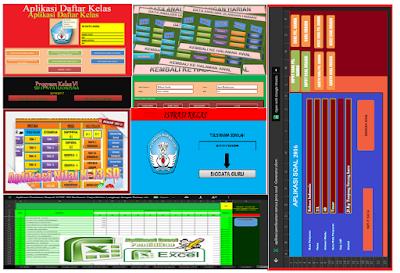 Download New Aplikasi Perangkat Administrasi Guru Format Excel 2016/2017 - Arsip Bendahara