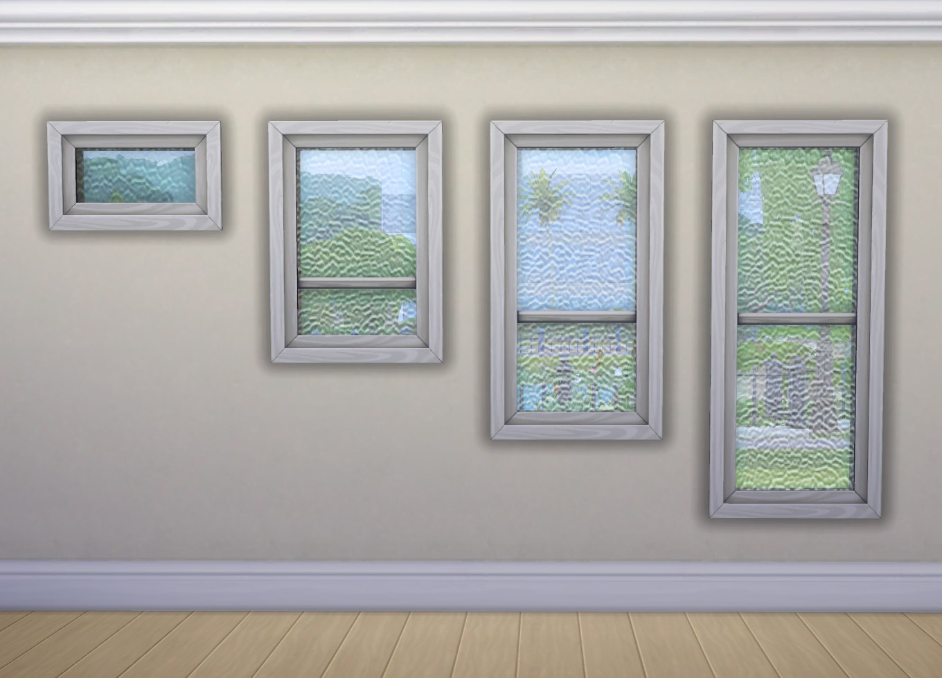 Double Glass 5 3 Window : My sims rolled glass windows by plasticbox