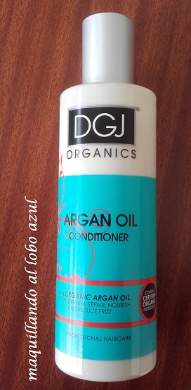 Acondicionador de Argán de DGJ Organics