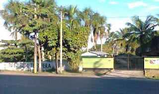fuerte militar en la selva peruana