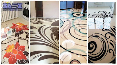 3d flooring and patterns, 3d epoxy floor designs