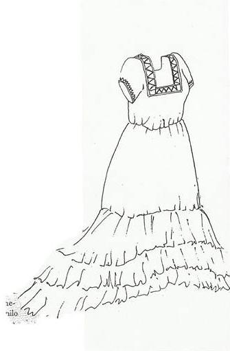 Vestimenta Campechana