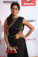 Sindhu looks fabulous in Black Saree designer choli at Mirchi Music Awards South 2017 ~  Exclusive Celebrities Galleries 037.JPG