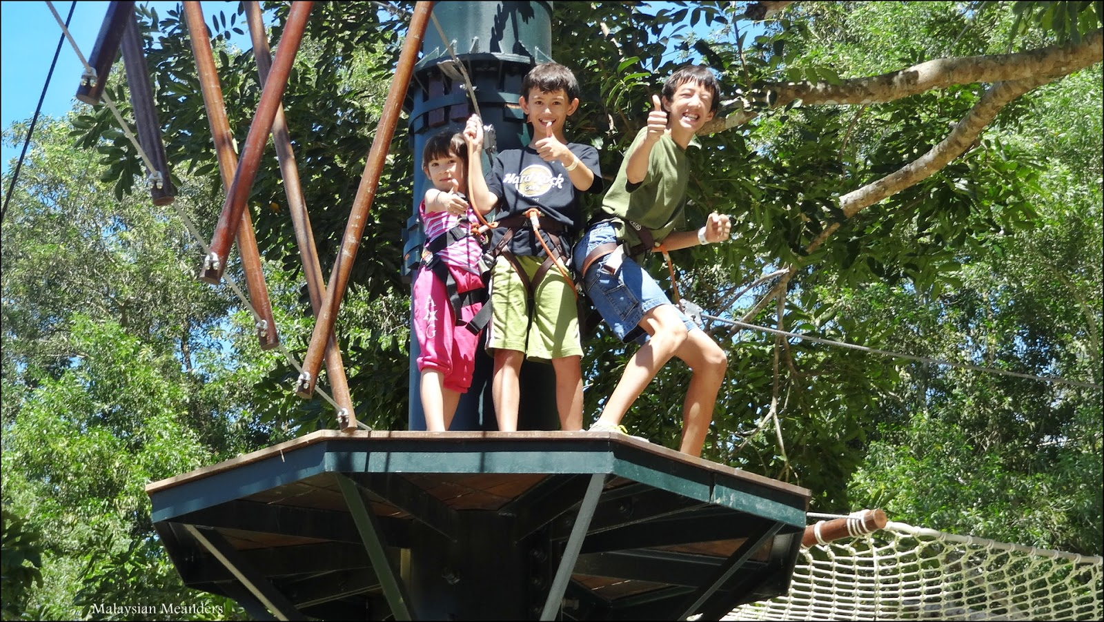 Malaysian Meanders Escape Penang S New Eco Adventure Park