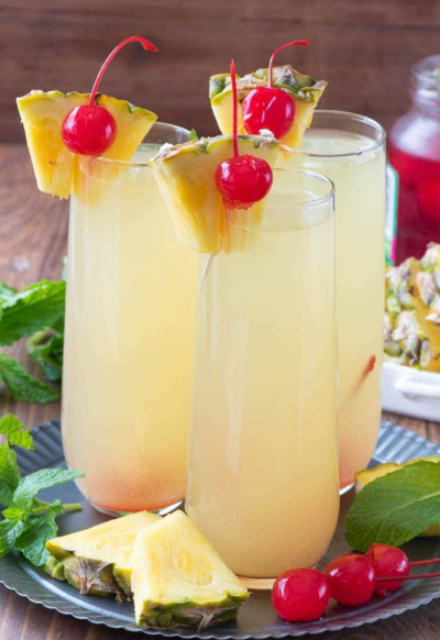 HAWAIIAN MIMOSAS RECIPE