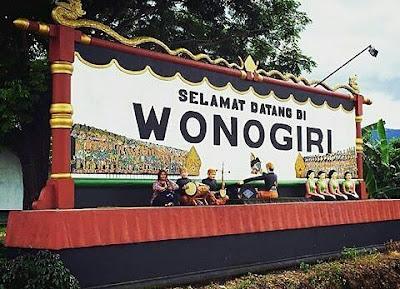 asal usul dan sejarah kota wonogiri
