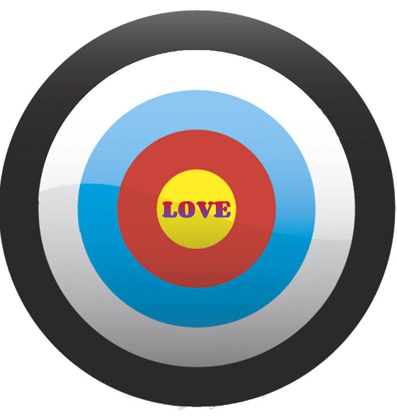 Love Target Bullseye