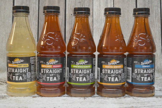 FREE Bottle of Snapple Straight Up Tea - Print NOW!