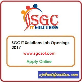 SGC IT Solutions Hiring Freshers/Exp Sofwtare Engineer Jobs in Hyderabad Apply Online