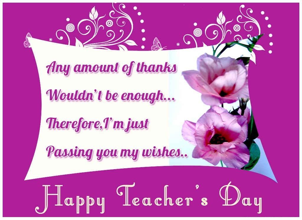 beautiful teacher's day hd ecards photos images