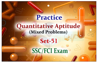 Practice Aptitude Questions (Mixed Problems)