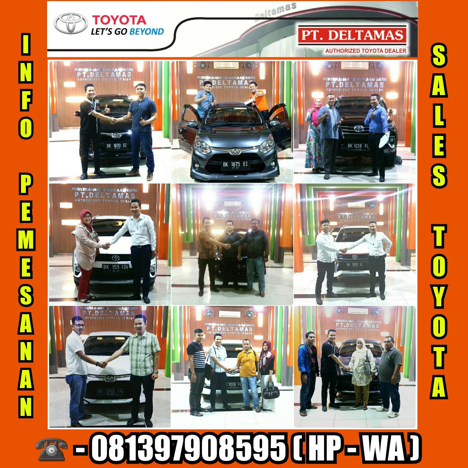 Toyota Deltamas Medan Booking Fee New Agya Trd A T Giias 2018 Open Indent Allnew Voxy